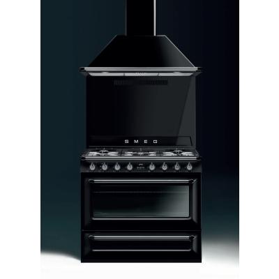 TRI90BL1 Libera installazione Gas hob B Nero cucina